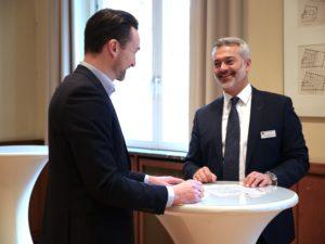 Vermittler-Kongress 2019: MBjörn Jöhnke mit Bastian Burmeister